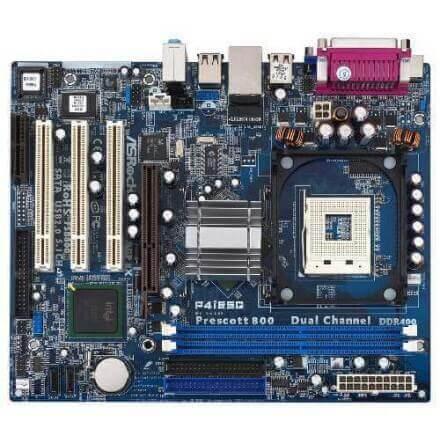 PB ASROCK 478 P4I65G MATX CON VGA (DDR1-AGP) - Imagen 1