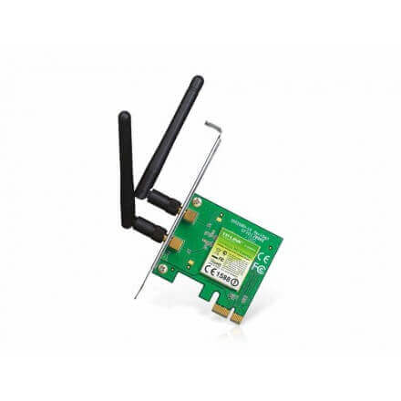 TP LINK TARJETA PCI EXPRESS WIFI TL-WN881ND 300 MBPS 2 ANTEN - Imagen 1