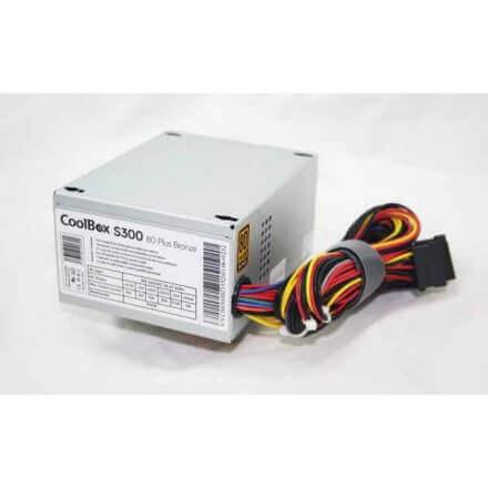 COOLBOX FUENTE ALIMENTACION SFX S300 80+ BRONZE - Imagen 1