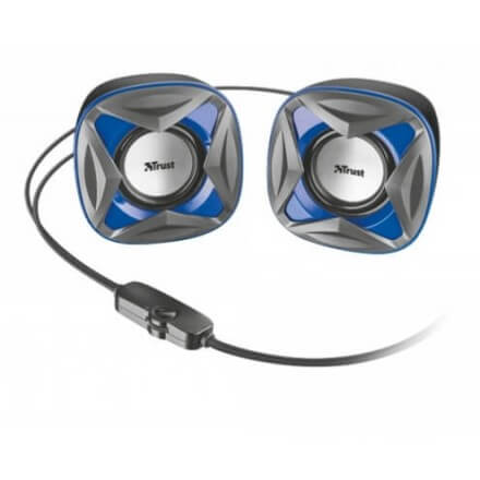 Trust Altavoces Xilo Compact 2.0 Azul 4w  Control Volumen/ Alimentado Por Usb