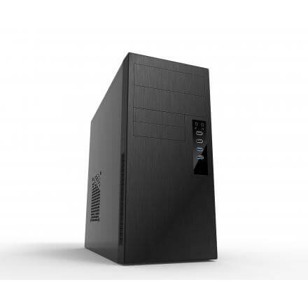 Coolbox Caja Pc Matx M650 Sin Fuente 4 Usb (2x Usb3.0 + 2x Usb2.0) - Imagen 1