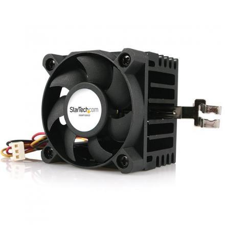 Startech Ventilador Cpu Socket 7/370 De 50x50x41mm Conectores Tx3 Y Lp4 - Imagen 1