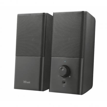 Trust Altavoces Teros 12w Max. (6w Rms) Control Volumen Salida Auriculares Alimentacion Usb - Imagen 1