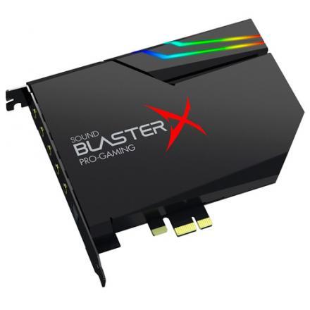 Creative Sound Blasterx Ae-5 Negra Rgb Aurora Pcie - Imagen 1