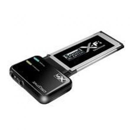 Creative Sonido Sb X-fi Xtreme Notebook Xpress Card 34mm (para Portatil) - Imagen 1