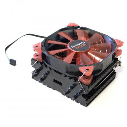 Mars Gaming Ventilador Disipador Mcpu3  Leds Aluminio+cobre+nano Ceramico - Imagen 1