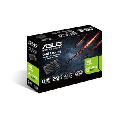 Vga Asus Geforce Gt730 Core 902 Mhz 2gb Gddr3 Pci Express 2.0 Dvi-d Hdmi Vga - Imagen 1