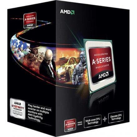 CPU AMD FM2 A6 X2 5400K BOX 3.6GHZ / 1MB - Imagen 1