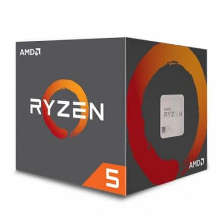 Cpu Amd Am4 Ryzen 5 2600x 4.25ghz 6core Am4 - Imagen 1