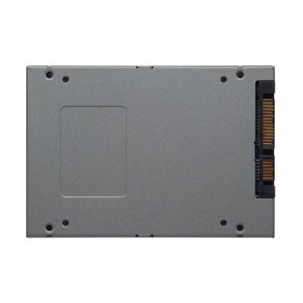 Hd Ssd Kingston 480 Gb Uv500 2.5\1 7mm Kit Montaje + Caja Externa Suv500b/480g - Imagen 1