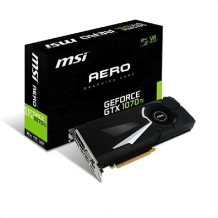 Vga Msi Geforce Gtx 1070 Ti  Aero 8g Gddr5 3xdp+1xhdmi+1xdvi/8p 912-v330-235 - Imagen 1