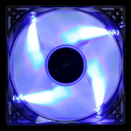 Unyka Ventilador Adicional 12x12 Led Azul 51791 - Imagen 1