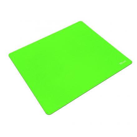 Trust Alfombrilla Primo Mousepad-summer Green DiseÑo Superficie M Compatible Todos Los Sensores De Raton Base Goma Antideslizant