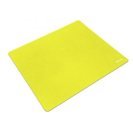 Trust Alfombrilla Primo Mousepad-summer Yellow DiseÑo Superficie M Compatible Todos Los Sensores De Raton Base Goma Antideslizan