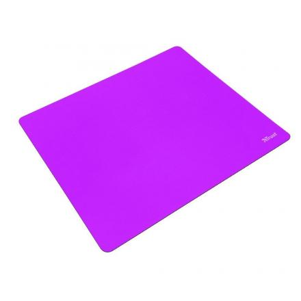 Trust Alfombrilla Primo Mousepad-summer Purple- DiseÑo Superficie M Compatible Todos Los Sensores De Raton Base Goma Antidesliza