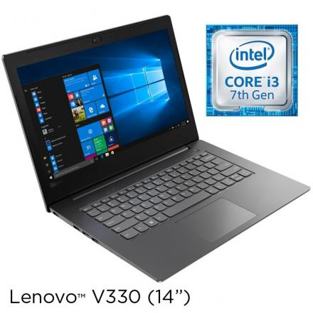 Portatil Lenovo V130-14ikb I3-7100 14fhd 4gb 500gb Usb-c W10 Color Iron Grey - Imagen 1