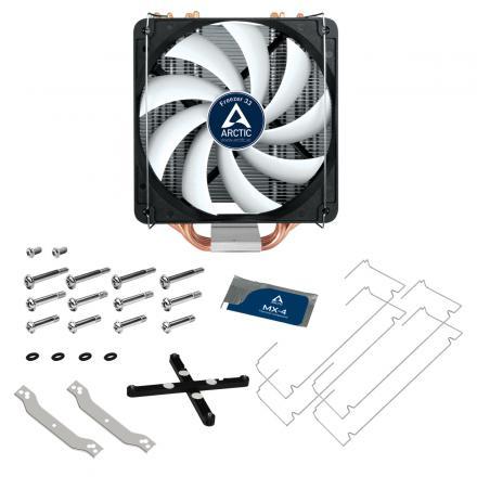 Arctic Ventilador Cpu Freezer 33 - 2011-v3, 2011, 1150,1151,1155,1156, Am4 (acfre00028a) - Imagen 1