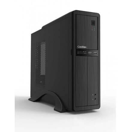 COOLBOX CAJA PC MATX SLIM T300 2xUSB3.0 FUENTE 500W - Imagen 1