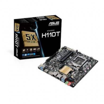 PB ASUS 1151 H110T MINI ITX 2DDR4,HDMI,USB3,SATA6, - Imagen 1