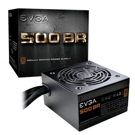 Evga Fuente Alimentacion 500 Br 500w - Imagen 1