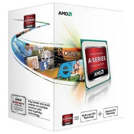 Cpu Amd Fm2 A4 X2 4000 Box 3.0ghz / - Imagen 1