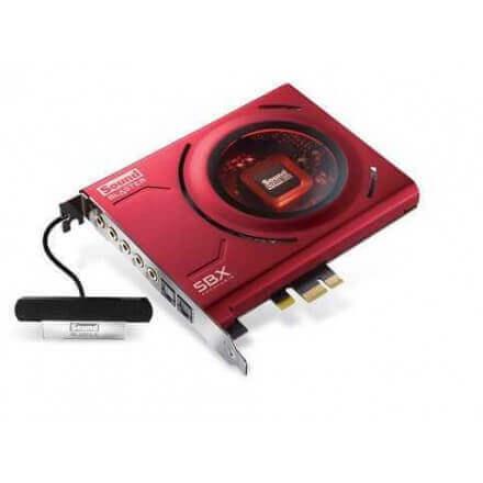 CREATIVE TARGETA DE SONIDO 5.1 SOUND BLASTER Z  PCI-E/24BITS - Imagen 1