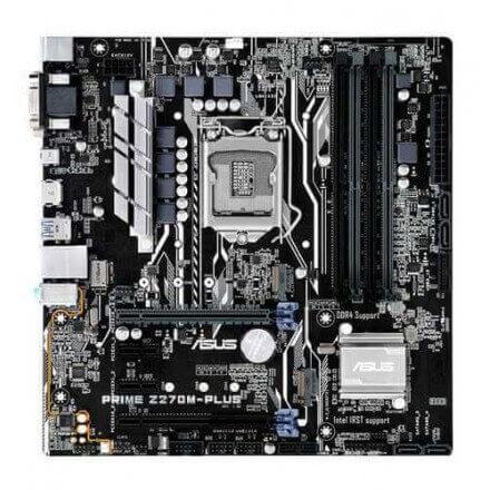 PB ASUS 1151 PRIME Z270M-PLUS M-ATX/4DDR4 2133MHz/HDMI/DVI-D/VGA4PCI-E/2XM.2/4SATA6G - Imagen 1