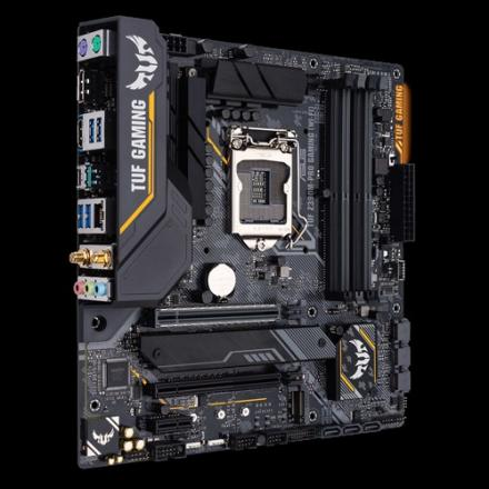 Pb Asus Lga1151 Tuf Z390m-pro Gaming Wi-f Micro Atx Snd+wlan+u3.1+m2 Sat Usb 3.1 Gen 1, Usb 3.1 Gen 2, Usb-c Gen1 - Imagen 1