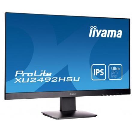Monitor Iiyama 23.8\1 Prolite Xu2492hsu-b1,1920 X 1080 Full Hd (1080p),ips,250 Cd/m²,1000:1,5 Ms,hdmi, Displayport,altavoces,neg