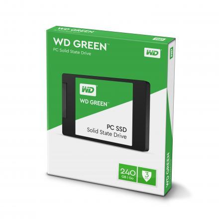 Hd Ssd Western Digital 240gb Wds240g1g0a Green Sata6 - Imagen 1