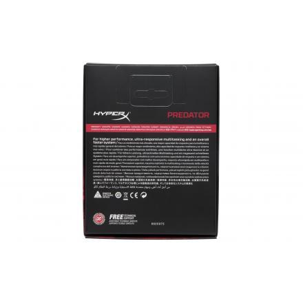 Memoria Kingston Hyperx Predator Ddr4 8gb Kit2 3600mhz Rgb - Imagen 1