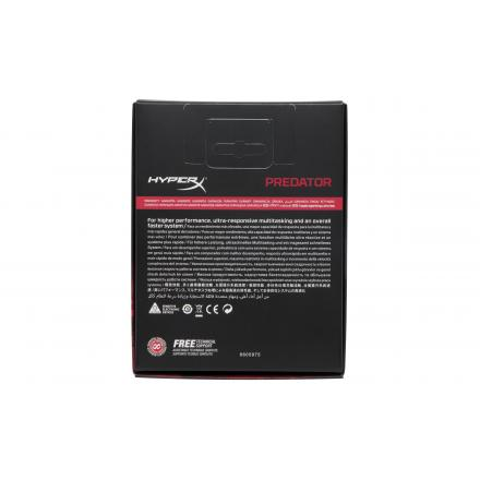 Memoria Kingstonddr4 16gb Kit2 3600mhz Rgbhyperx Predator - Imagen 1