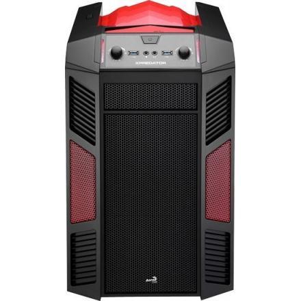Aerocool Caja Pc Gaming Xpredator Cube Red/gold Edicion Iron Man - Imagen 1