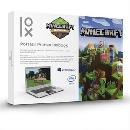 Portatil Primux Ioxbook 1402mc N3350 4gb 152gb (32gb+m.2 120gb) W10 14.1\1 Minecraft - Imagen 1