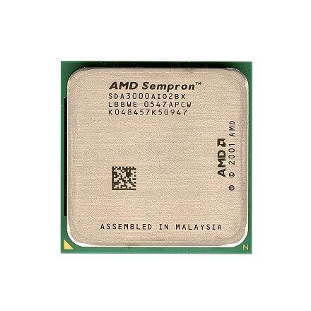 CPU AMD 754 SEMPRON 3000+ 1.8GHZ/256KB TRAY (SV) - Imagen 1