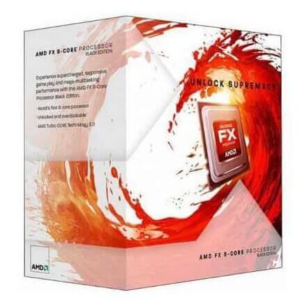 CPU AMD X8 FX-8320 AM3+ BOX 3.5 GHZ - Imagen 1