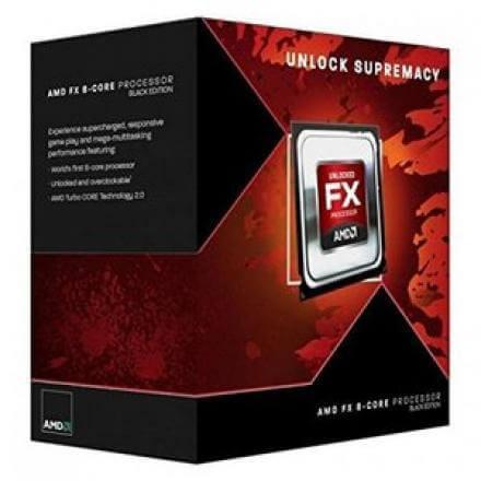 CPU AMD X8 FX-8300 AM3+ BOX 3.30 GHZ - Imagen 1