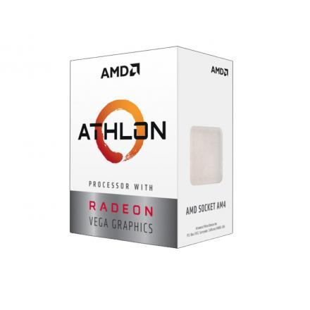 Cpuamd Am4athlon 240ge Radeon Box Am4 - Imagen 1