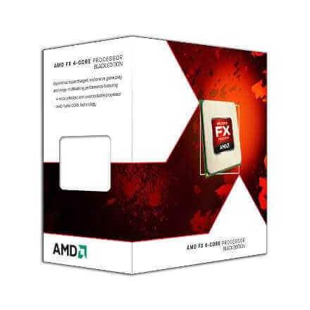 CPU AMD X4 FX-4300 AM3+ BOX 3.8 GHZ - Imagen 1