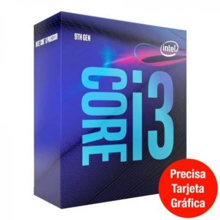 Cpu Intel Lga1151 I3-9100f 3.6ghz Box - Imagen 1