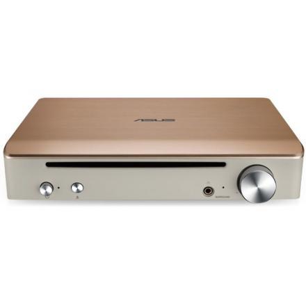 Grabador Asus Blu-ray Bd-rw Sbw-s1 Pro Impresario. Usb 2.0, Bdxl,3d, Ext., Dorado - Imagen 1