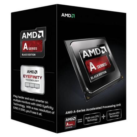 Cpu Amd Fm2+ A10 X4 7850k Box 3.7ghz / 1mb - Imagen 1