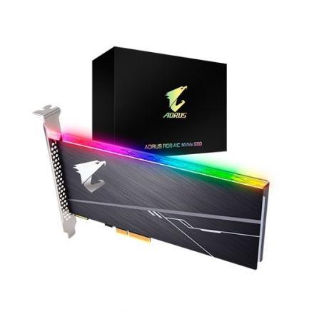 DISCO DURO PCIE SSD 1TB GIGABYTE AORUS AIC PCIE X4 RGB - Imagen 1