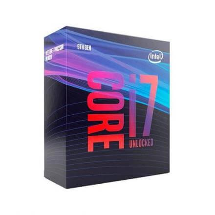 PROCESADOR INTEL 1151-9G I7-9700KF 8X3.6GHZ/12MB BOX - Imagen 1