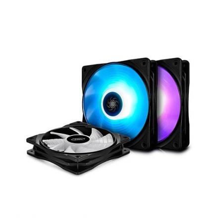 VENTILADOR 120X120 DEEPCOOL RF 120 3 IN 1 RGB - Imagen 1