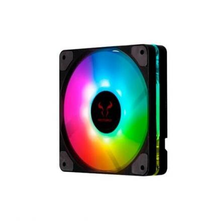 VENTILADOR 120X120 RIOTORO QUIET STORM RGB - Imagen 1