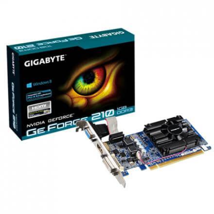 TARJETA GRÁFICA GIGABYTE GT 210 1GB GDDR3 - Imagen 1