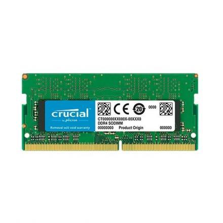 MODULO MEMORIA RAM DDR4 4GB PC2666 CRUCIAL CT4G4SFS8266 RET - Imagen 1
