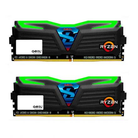MODULO MEMORIA RAM DDR4 8GB (2X4GB) PC2400 GEIL SUPER LUCE - Imagen 1