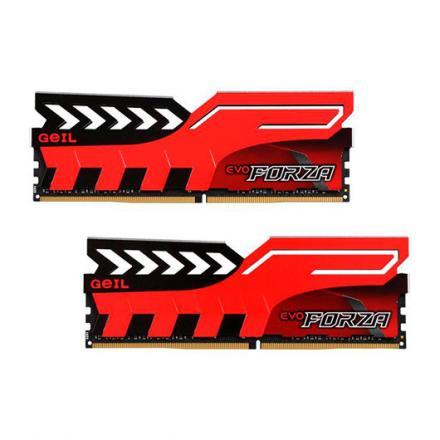 MODULO MEMORIA RAM DDR4 16GB (2X8GB) PC3000 GEIL FORZA RED - Imagen 1